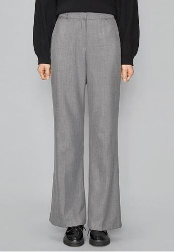 經典條紋直筒西褲, 服飾,esprit台灣outlet 直腳褲