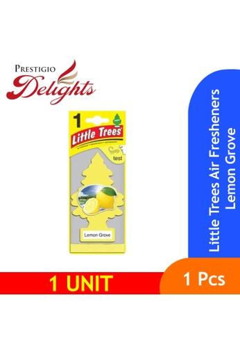 Prestigio Delights yellow Little Trees Air Fresheners Lemon Grove D26F6ESA70B3FFGS_1