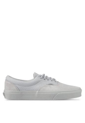 VANS grey Era Military Mono Sneakers VA142SH0SKV9MY_1