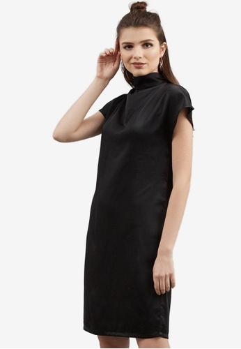 Berrybenka black Daachie Shift Dress B7CC2AA0BF15D1GS_1