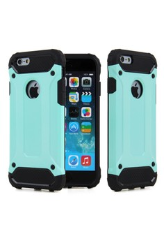Tough Hybrid Dual Layer Case for Apple iPhone 4G/4S