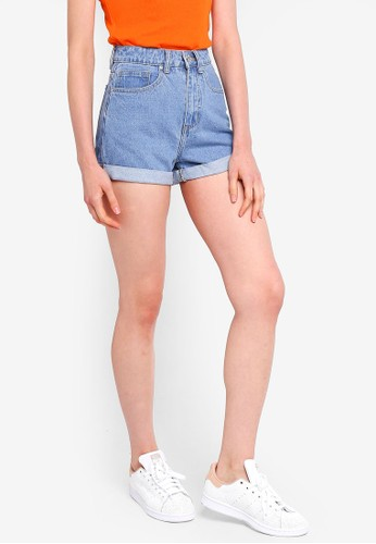 Factorie blue Mom Shorts 731F4AAF6AB8B9GS_1