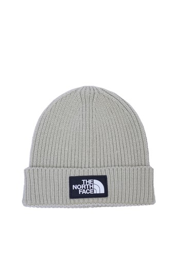 Jual The North Face The North Face The North Face Logo Box Cuffed Beanie Beige Nf0a3fjxzdl Original Zalora Indonesia