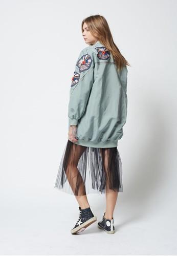 Play Blouson Patch Jacket, esprit 香港服飾, 外套