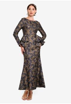 a31cb40a69 28% OFF Zalia Jacquard Peplum Mermaid Dress RM 339.00 NOW RM 242.90 Sizes  XS S M L XL