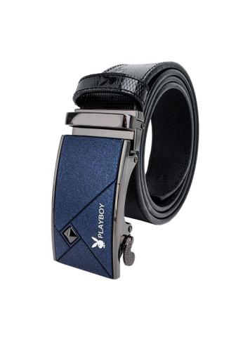 Playboy black Playboy 35mm Automatic Bukle Belt 42ADAAC5C3438AGS_1