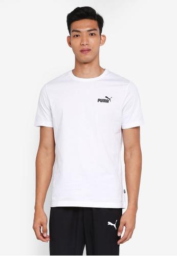 Puma white Sportstyle Core Ess Small Logo Tee FA4A0AA46A8782GS_1