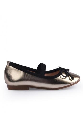 Meet My Feet gold Meet My Feet Dahna (Infants,Toddlers/Kids Ballet Flats) C727EKS79405E2GS_1