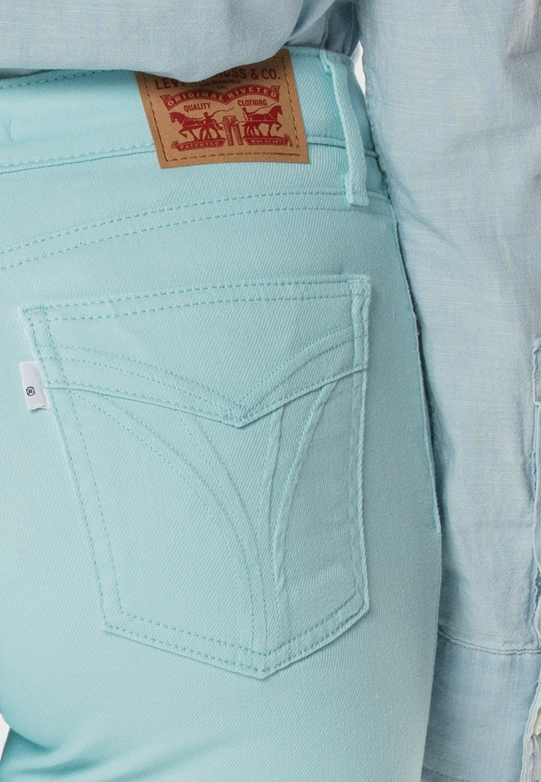 Levi's® Blue High Rise Pants Levi's 721 Ankle Skinny FqSxdn77wv