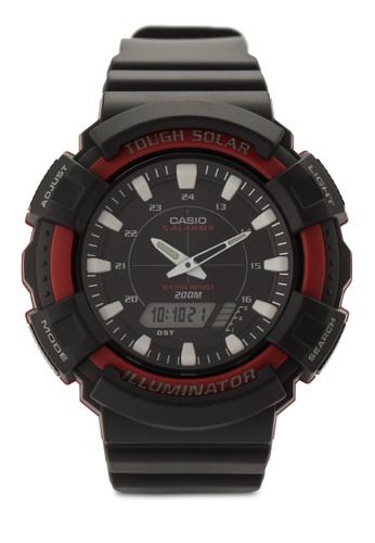 Casio multi Casio Men's Solar Black Resin Band Watch CA843AC60VHRMY_1