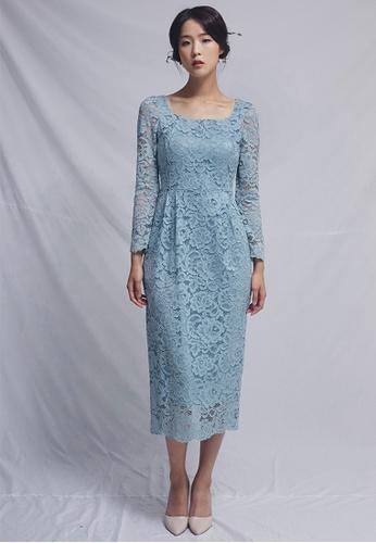 Clair de Lune blue Tiffany Dress CL525AA0GSCZSG_1
