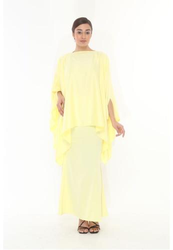 Amar Amran yellow Baju Kurung  Kaftan Kaulawa F1EE0AAB43FD8BGS_1