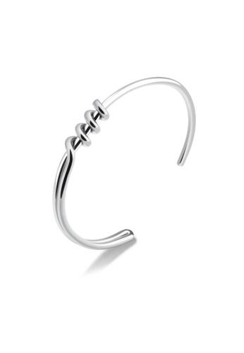 ADORA Stainless Steel Silver Bracelet F8109AC1E99EC1GS_1