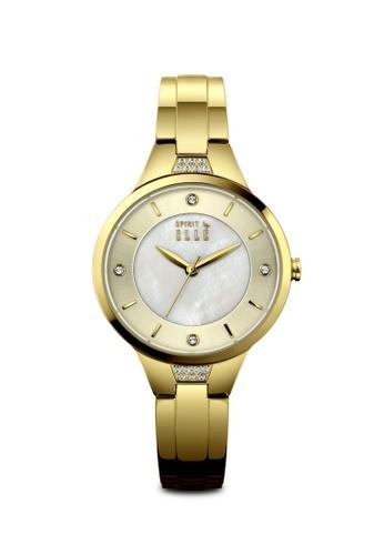 ELLE gold Fashion Ladies Watch EL900AC0SSFYMY_1
