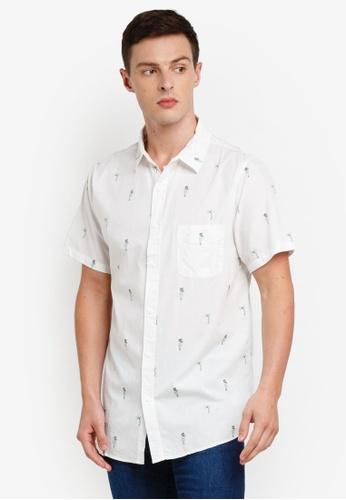 Cotton On 白色 Vintage Prep Short Sleeve Shirt 410C9AA5188BAAGS_1
