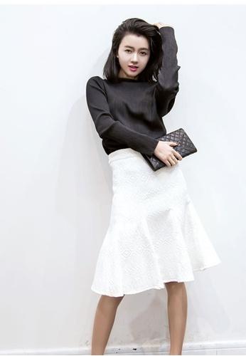 Sunnydaysweety white White Round Skirt K20041802 60CB2AAF8981F6GS_1