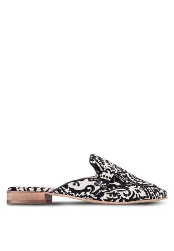 TOPSHOP black ALEXA Slip On Loafers TO412SH32DBRMY_1