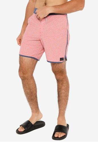Rip Curl pink Basin Layday Shorts ADA21AA10C83B8GS_1