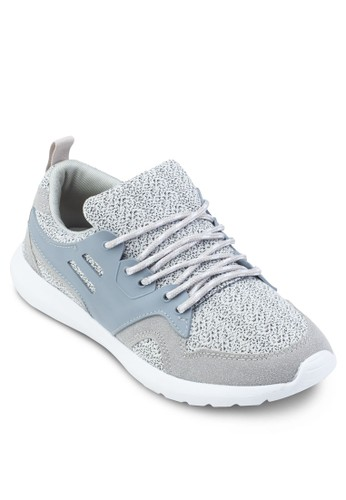 斑點拼接繫帶運動鞋, 女鞋esprit hk store, 運動鞋