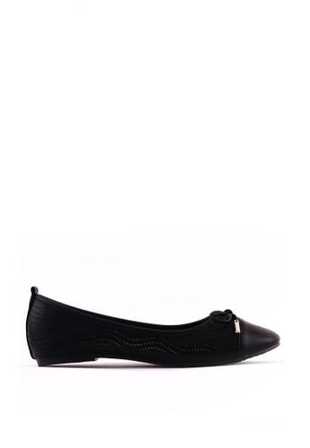 7soles black Emily L Flat Shoes CB22FSHBBD089DGS_1