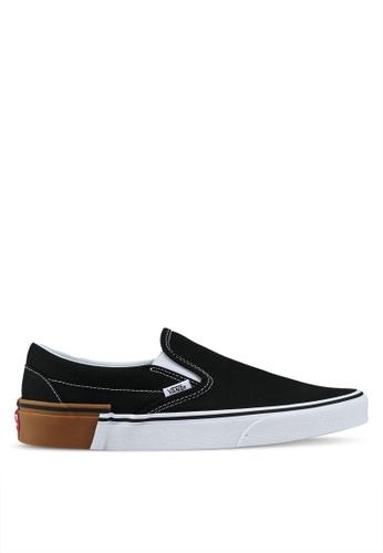 VANS black Slip-On Gum Block C3A8ESH0BF8F8AGS_1