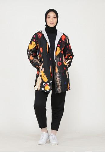 Mimamim black Hilna All Over Print Jacket 56649AA8FBA90AGS_1