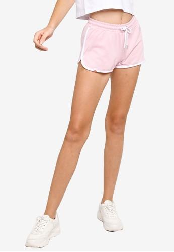 ellesse pink Vediamo Shorts 985BEAA9BFC44EGS_1