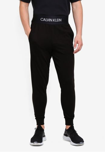 Calvin Klein 黑色 Modular Jogger Pants - Calvin Klein Performance 1A94BAA398549CGS_1