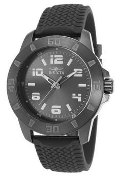 Pro Diver Men 45mm Case Polyurethane Strap Dial Quartz Watch 21860