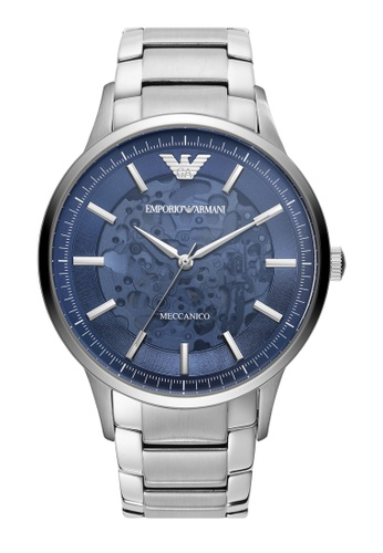 EMPORIO ARMANI silver Watch AR60037 F82FBACC35F731GS_1