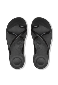 9bfdb3585d18 7% OFF Fitflop Fitflop Iqushion Wave - Pearlised (Black) RM 149.00 NOW RM  139.00 Sizes 6 7 8 9