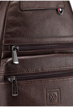3d2b86ddee6 15% OFF Volkswagen Genuine Leather Chest Bag RM 499.90 NOW RM 424.92 Sizes  One Size