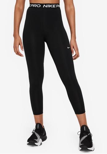 Nike black Women's Nike Pro 365 7/8 Hi Rise Tights 63779AA77BD869GS_1