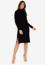 DEBENHAMS black Rjr.John Rocha - Rjr Roll Neck Dress 1D9F0AA5B3FBBAGS_1