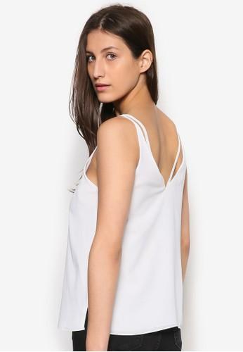 雙肩帶V 領背心、 服飾、 簡約優雅潮流TOPSHOP雙肩帶V領背心最新折價