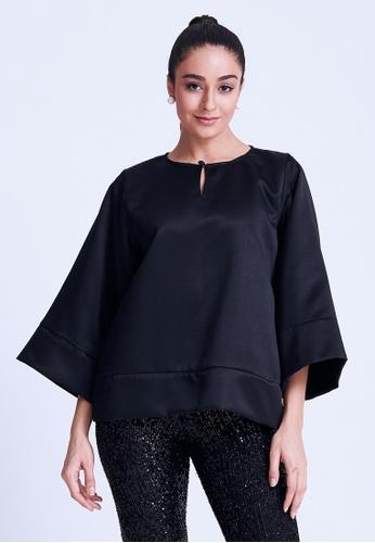 Klambi KL black BASIC KEDAH BLACK 55AD3AA0ECFF1FGS_1