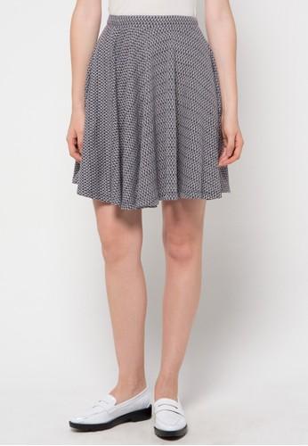 WHITEMODE black Ashanti Skirt WH193AA40UOHID_1