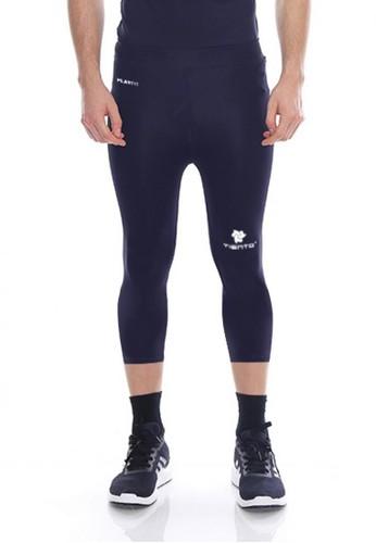 Jual Tiento Tiento Man Compression 3 4 Pants Navy Celana Legging Leging Lejing Sebetis Pria Olahraga Lari Sepakbola Renang Fitness Futsal Original Zalora Indonesia