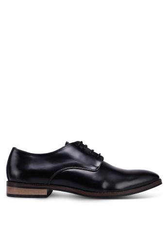 ACUTO black Leather Business Shoes DE6F3SH13041F8GS_1