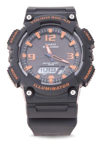 Casio black Tough Solar Watch AQ-S810W-8AVDF CA076AC16LRRPH_1