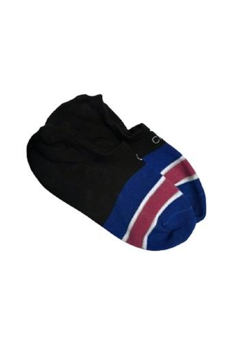 Calvin Klein Socks black and blue Calvin Klein Women Cotton No Show Liner 8C59CAA3CD09EDGS_1