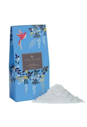 Sara Miller blue Sara Miller London 150g Hummingbird Bath Salts - Lemongrass, Jasmine & Cedarwood (FG8544) 77ABEBE7D1C4F7GS_1