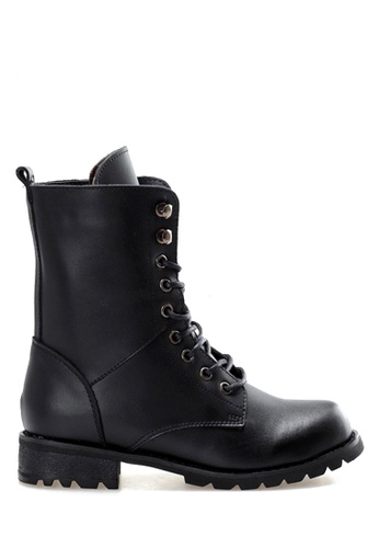 Twenty Eight Shoes black Martin Lace Up Boot VBF03 TW446SH2UX2PHK_1