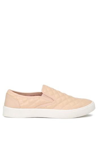 London Rag beige Blush Slip-on Sneakers 34E5CSH5BA61B8GS_1