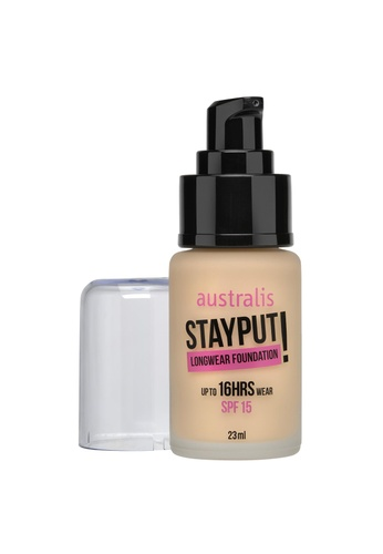 Australis Stayput Foundation - Natural Beige AU782BE60DHFSG_1