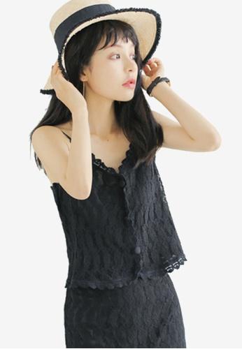 Shopsfashion black Crochet Cami Top AEAA1AA9725727GS_1