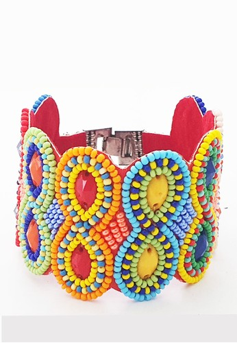 San Marco multi Lucky-8 Multicoloured Beads Bracelet 6DAD8AC8EB140FGS_1