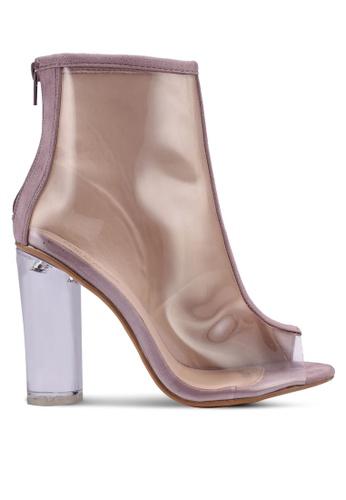 Public Desire purple Woke Ankle Boots 819A4SH26718D8GS_1