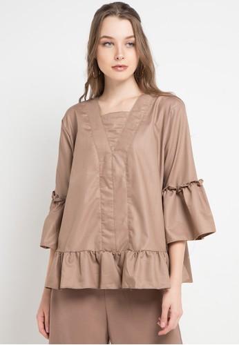 Imperial brown Furla Top 77579AA8E7F2F0GS_1