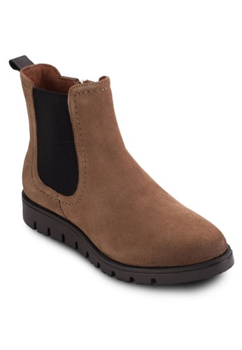 Dresalti 麂皮短靴, 女鞋, zalora 手錶 評價鞋